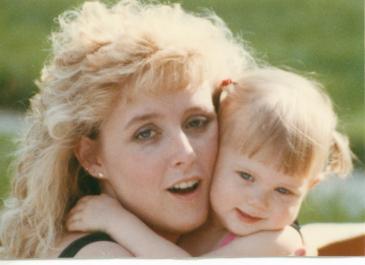 Stevie & Mom